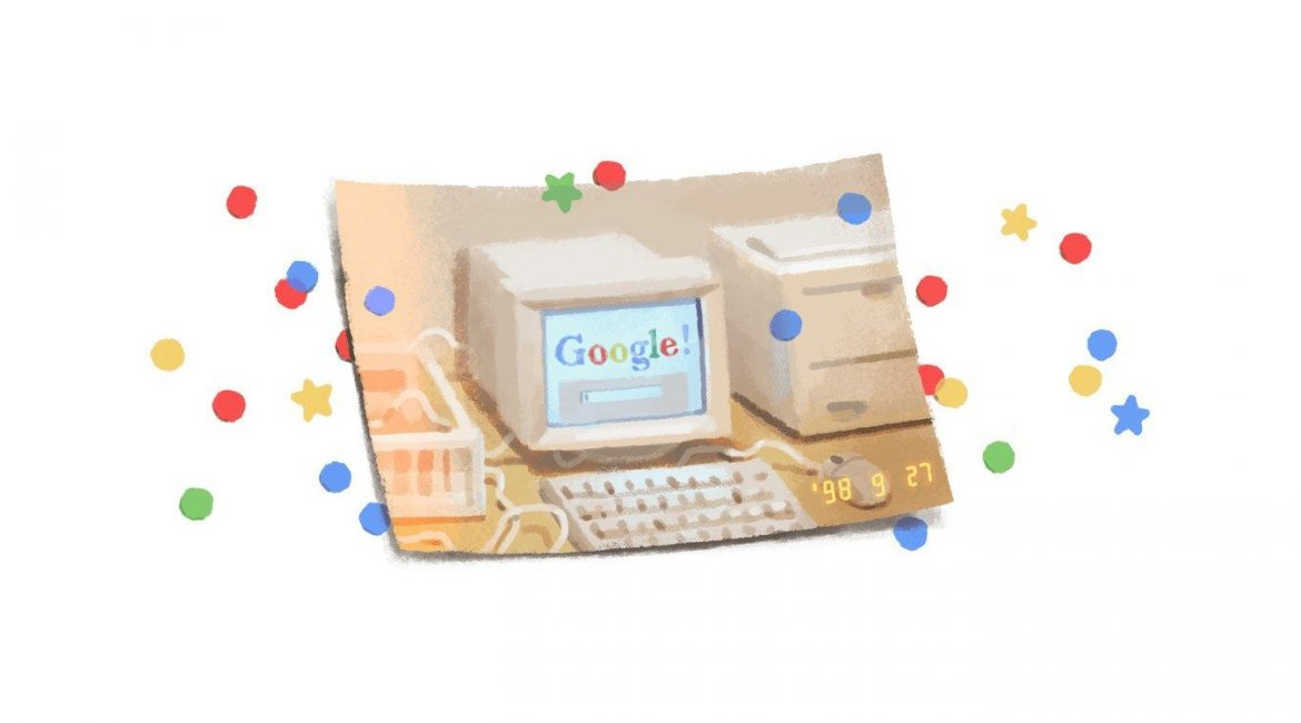 Googles 21st Birthday