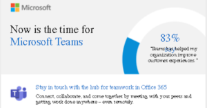 Now is the time for Microsoft Teams
