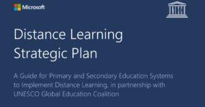 Distance learning strategic plan